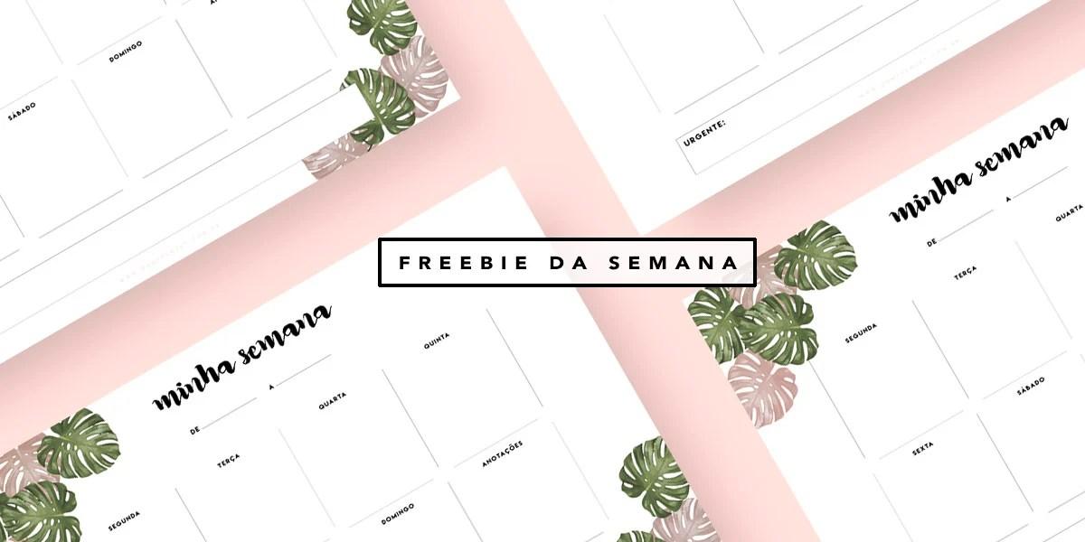 Planner semanal Oh My Closet Por Mônica Araújo Verão 2017 Printable free design