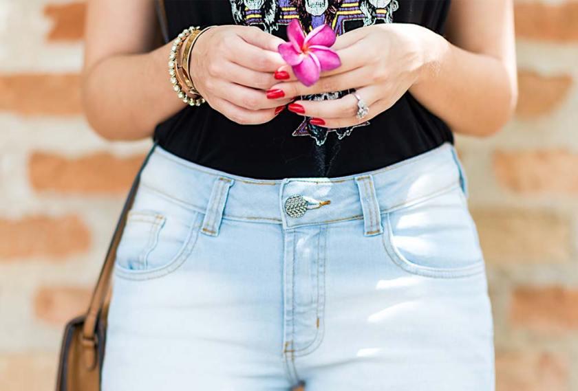 Look casual com jeans para o final de semana com Mônica Araújo do Oh My Closet para Hipsters Denim.