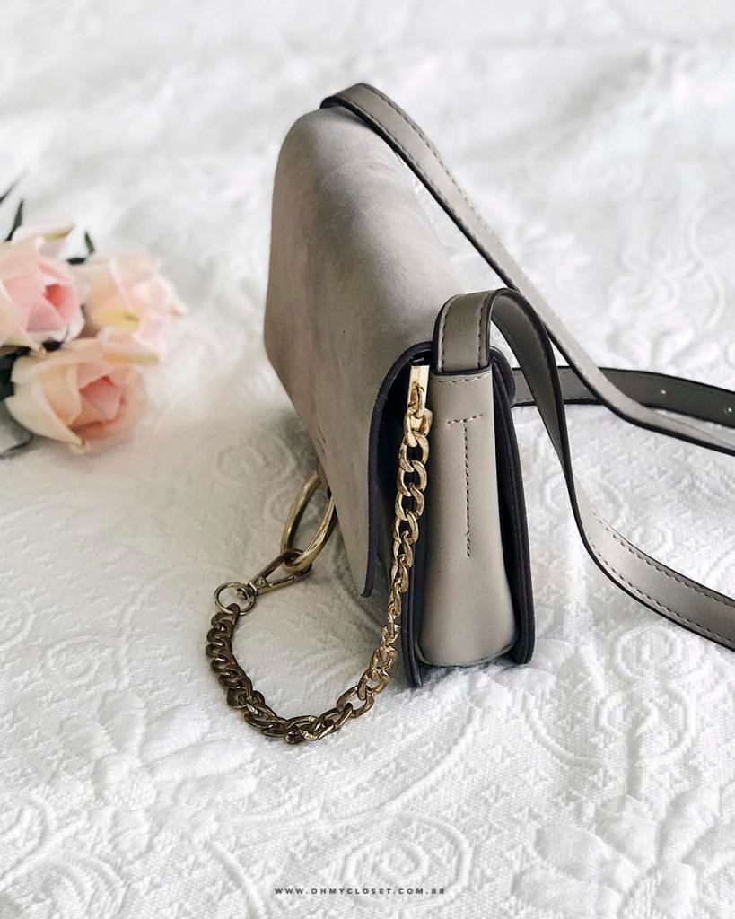 Delalhes da bolsa Chloé Faye inspired barata no AliExpress. Veja as dicas de compras do Oh My Closet!
