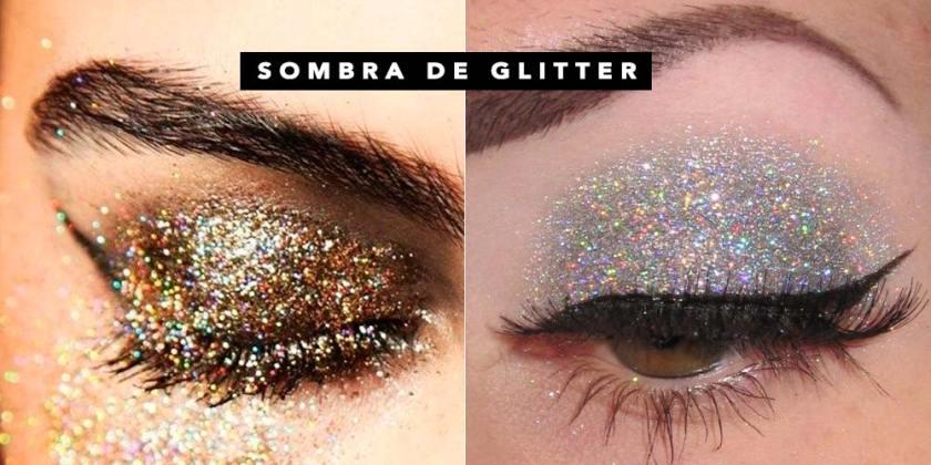 Sombra glitter 4 ideias simples e lindas de make para o Carnaval 2017. Veja todas as dicas no Oh My Closet!