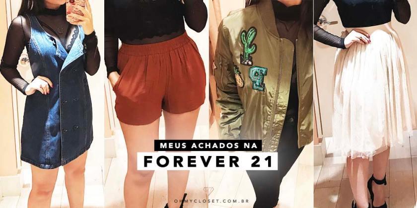 Achados na Forever 21 da Haddock Lobo em São Paulo.
