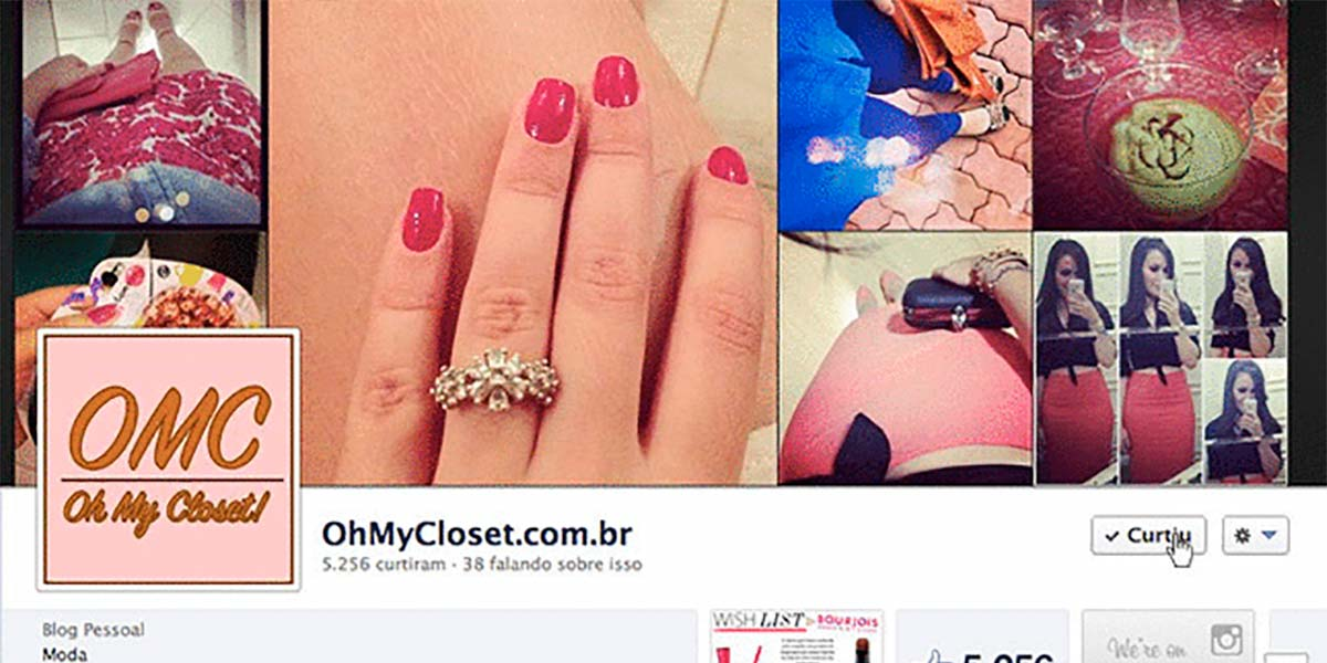 Facebook do Oh My Closet!