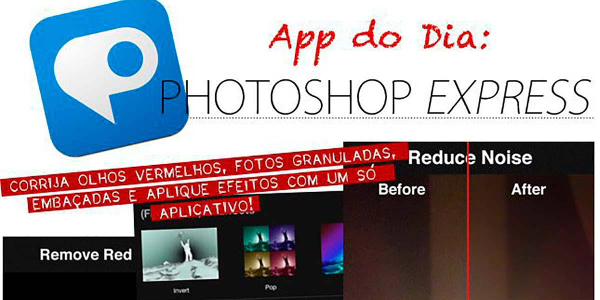 App Photoshop Express para fotos Instagram