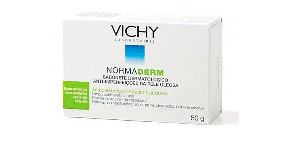 Sabonete para pele oleosa NormaDerm Vichy