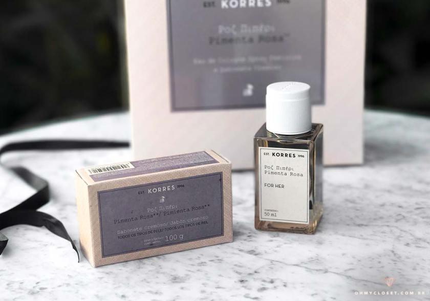 sabonete e perfume korres