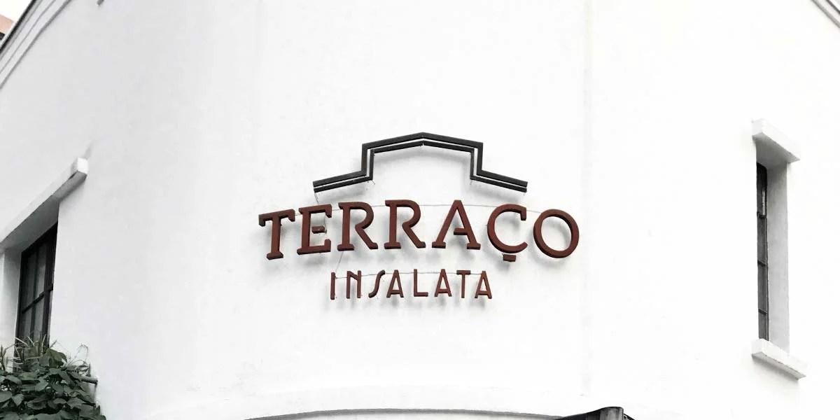 Terraço Insalata no Jardim Paulista.