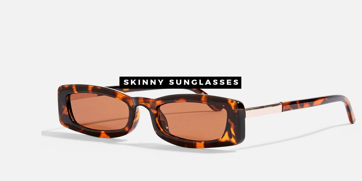Skinny glasses, a tendência de 2019. Veja como usar.