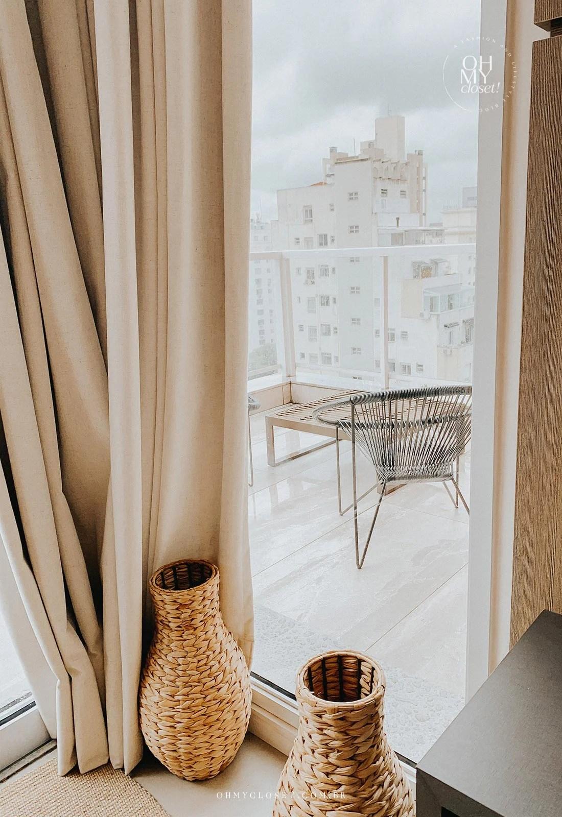 Varanda apartamento duplex apartamento Airbnb