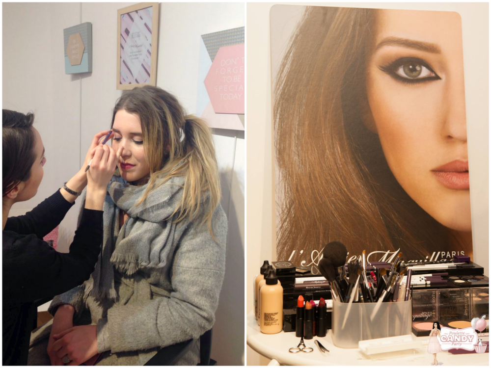 poulette party candy evenement blog maquillage makeup eos biutag