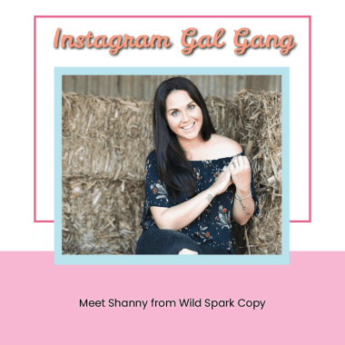 Instagram Gal Gang - Shanny - Wild Spark Copy