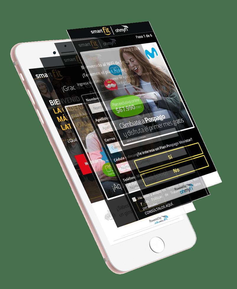WiFi Marketing de monetizacion - OhmyFi