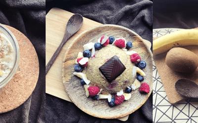 3 recettes de petits déjeuners express & Healthy