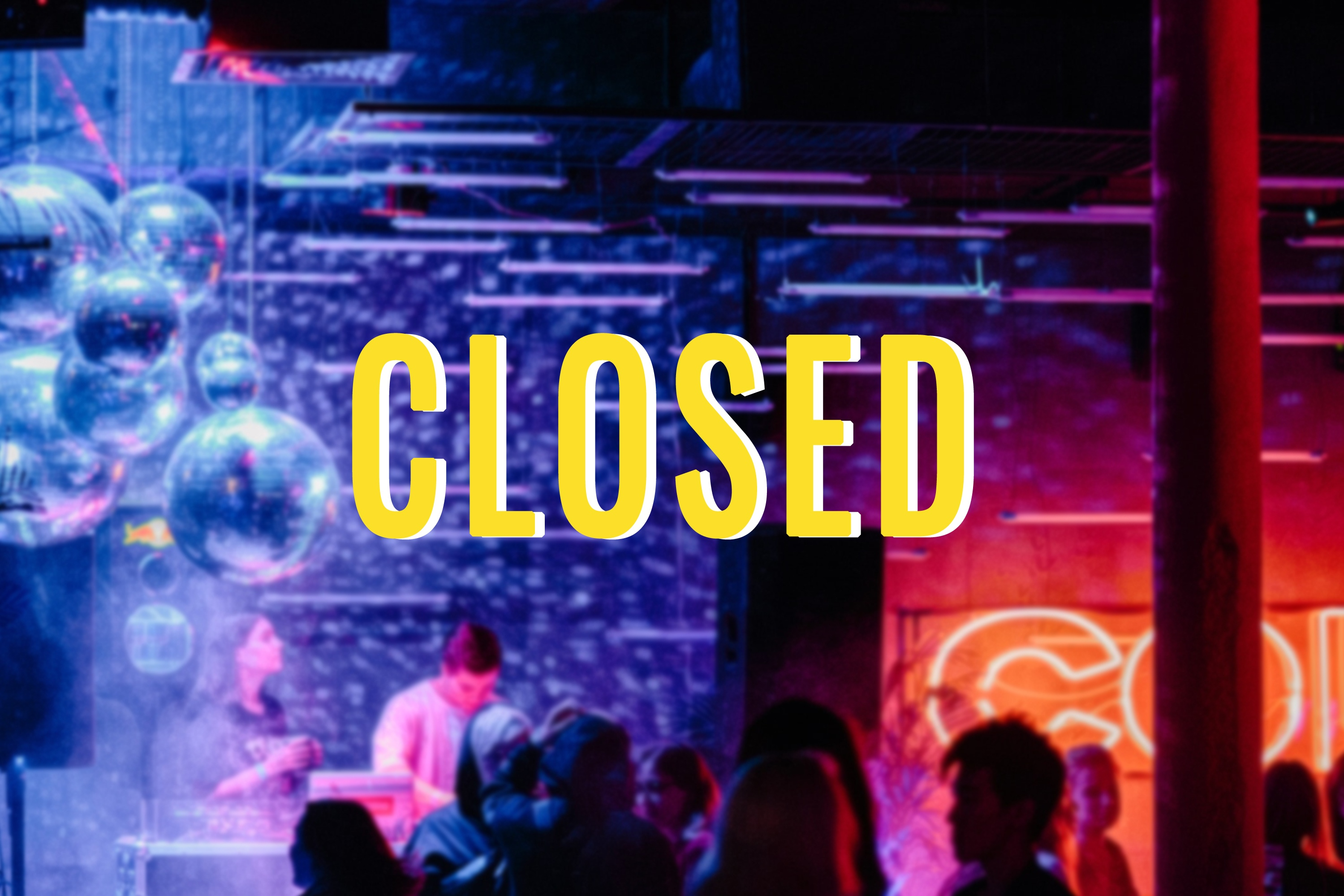 New measures announced: clubs, bars, discos closed