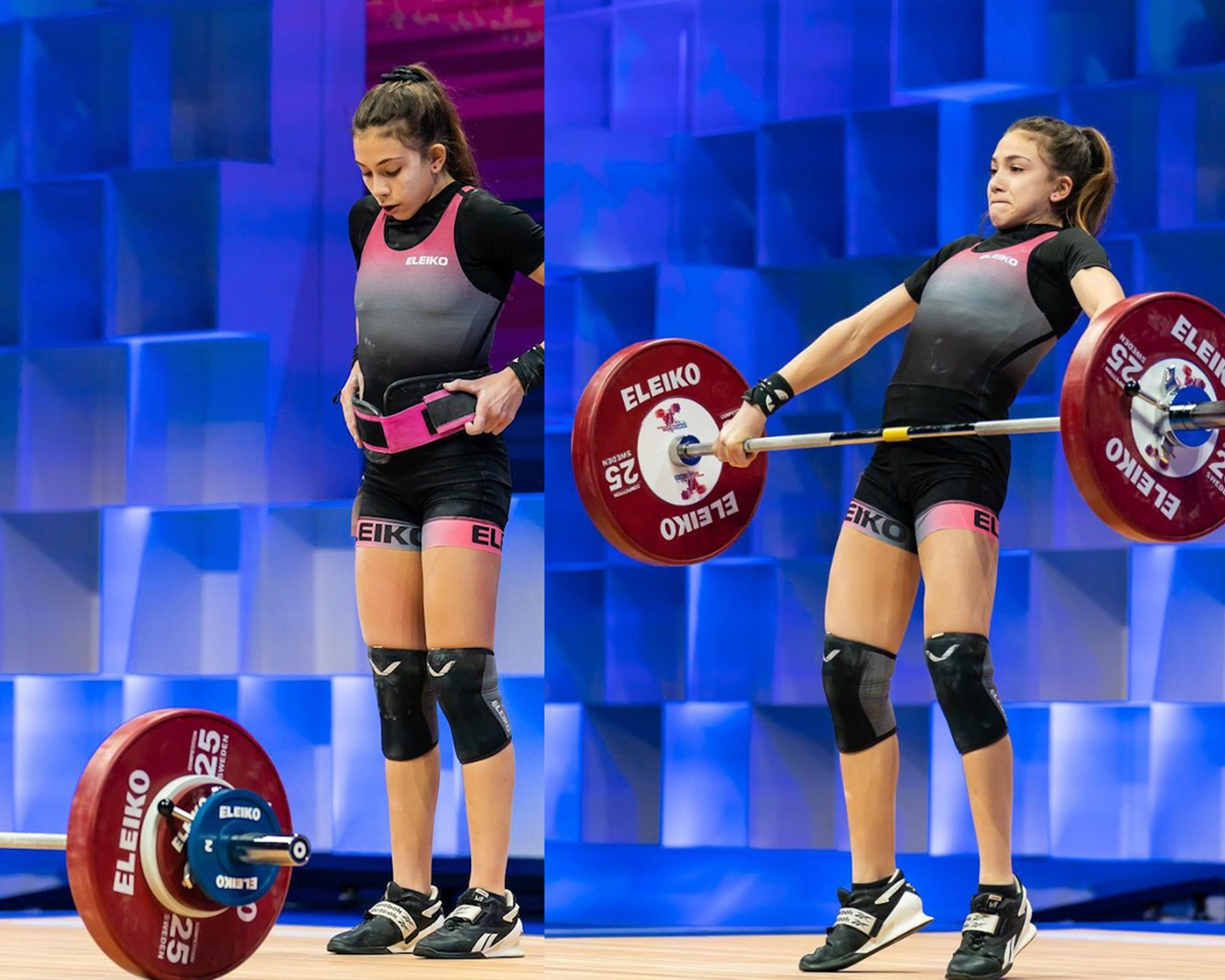 Maltese weightlifter smashes five national records