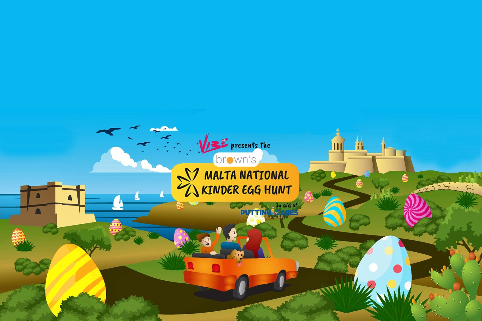 Read more about the article Malta National Hunt collects €4000 for Puttinu Cares