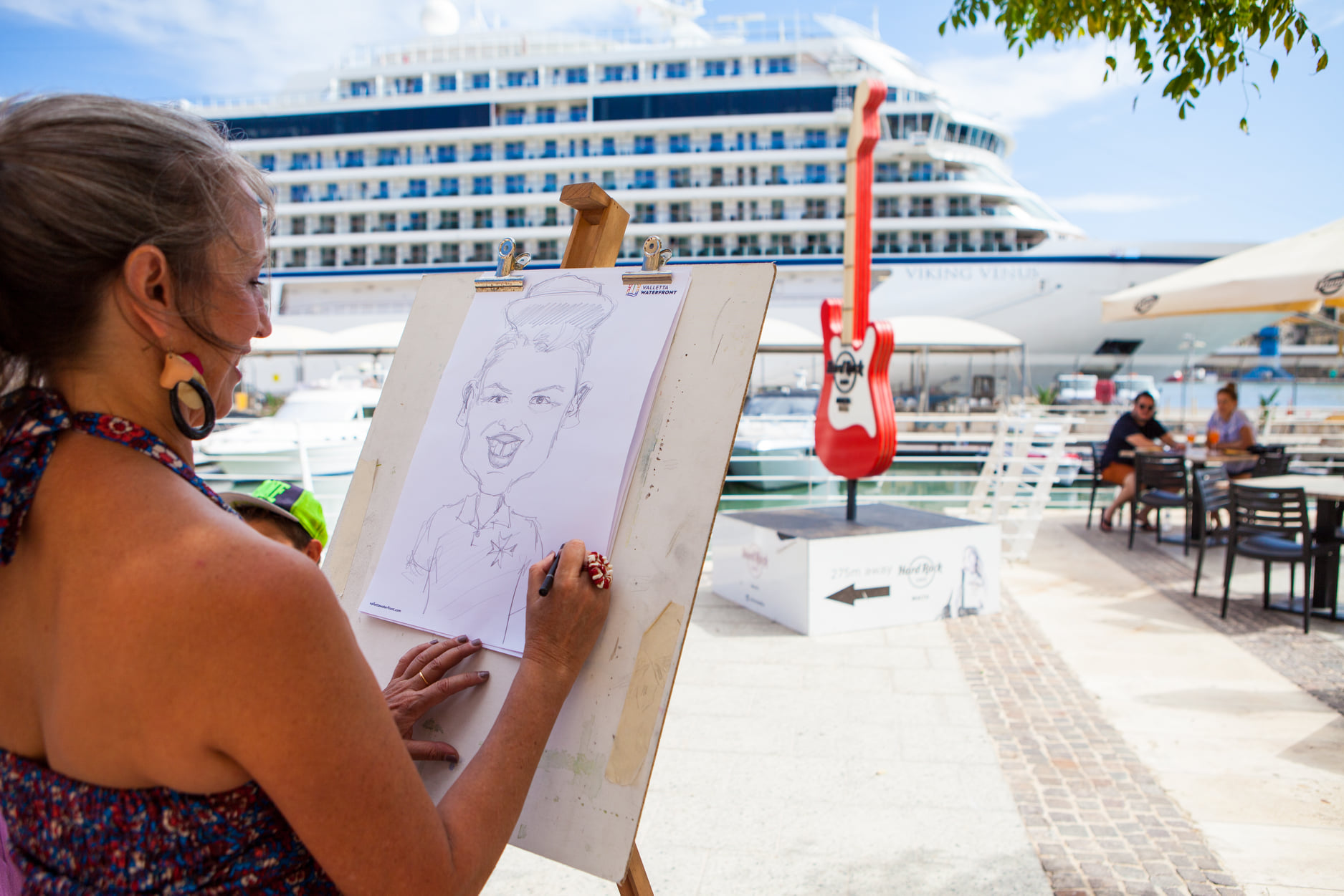 Read more about the article Experience street art and live music at the Valletta Waterfront
