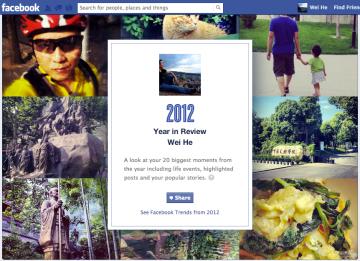 facebook的2012照片