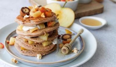 Glutenvrije appeltaart pannenkoekjes