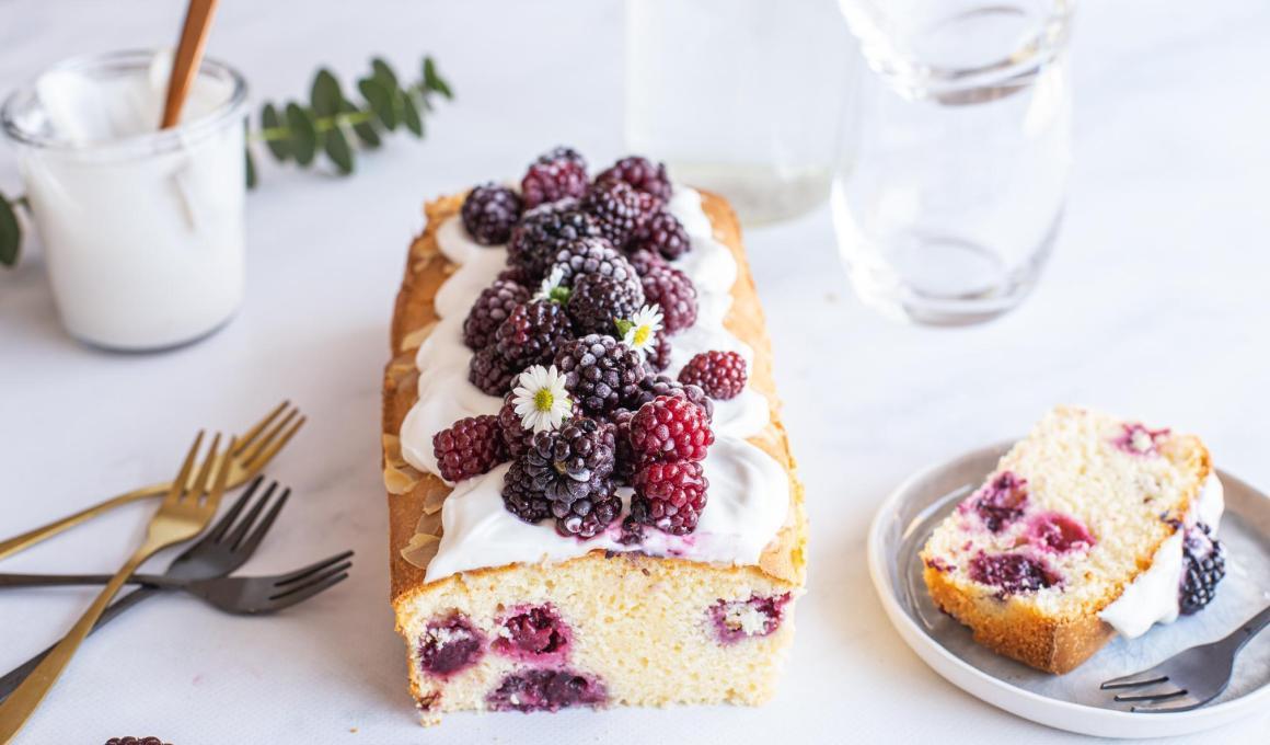 Frisse Bramen cake glutenvrij en lactosevrij
