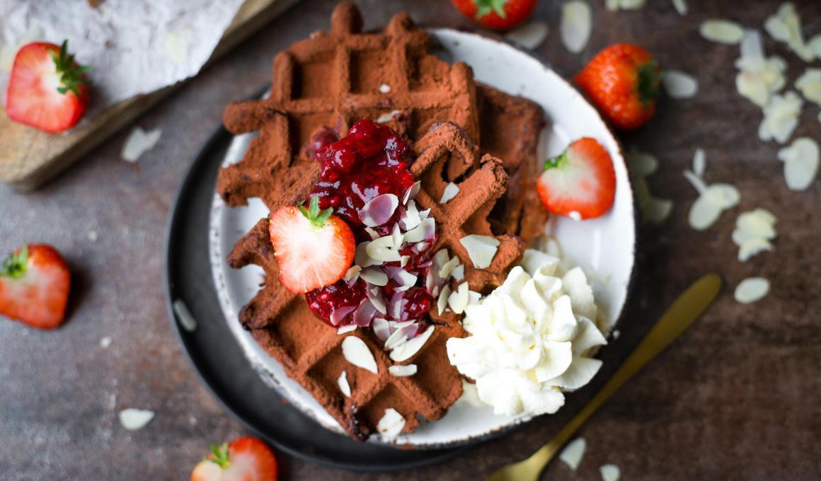Glutenvrije chocolade wafels