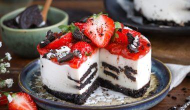 Glutenvrije oreo cheesecake