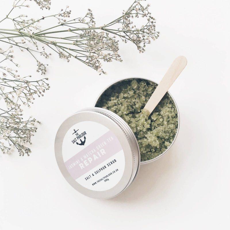 The Salt Parlour Jasmine & Matcha Green Tea