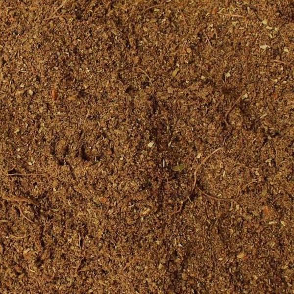 Up close photo of Indian Spice Garam Masala