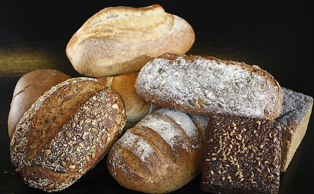 various loaves of rusty breads