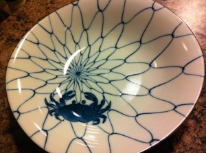 Japanese Crab Plate