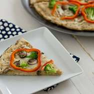 Vegetarian Thai Pizza