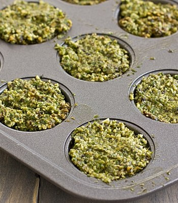 Pesto in Muffin Tin