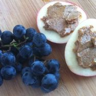 Apple and Grape Snack