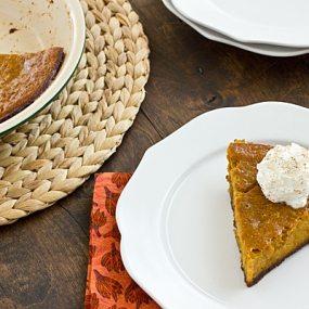 Pumpkin Gingersnap Pie Recipe