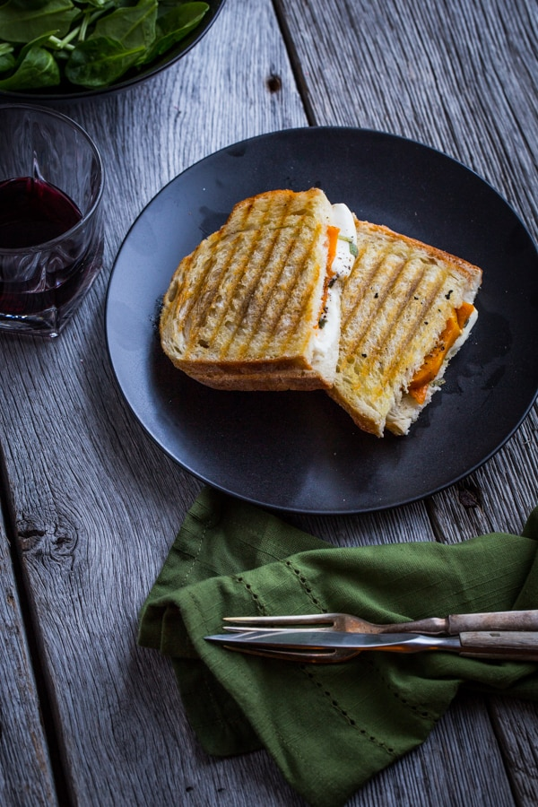 Roasted Butternut Squash Panini