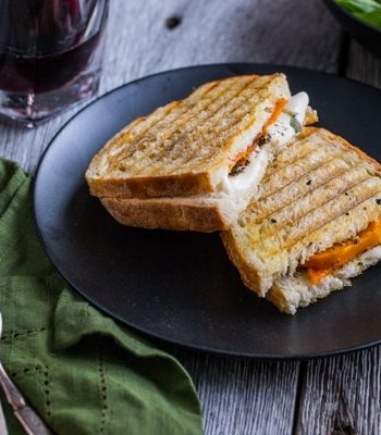 Roasted Butternut Squash Panini Recipe