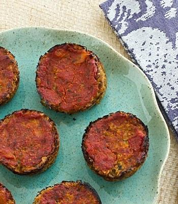 Mini Vegetarian Meatloaves