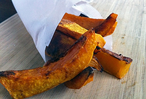 Roasted Butternut Squash Fries