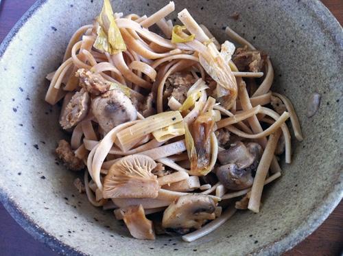 Wild Mushroom Fettucini