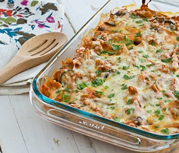Vegetable Baked Ziti Casserole