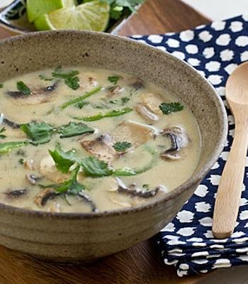 Coconut Lime Tofu Soup Recipe