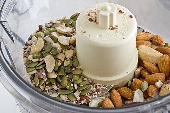 Nuts & Seeds in Food Processor