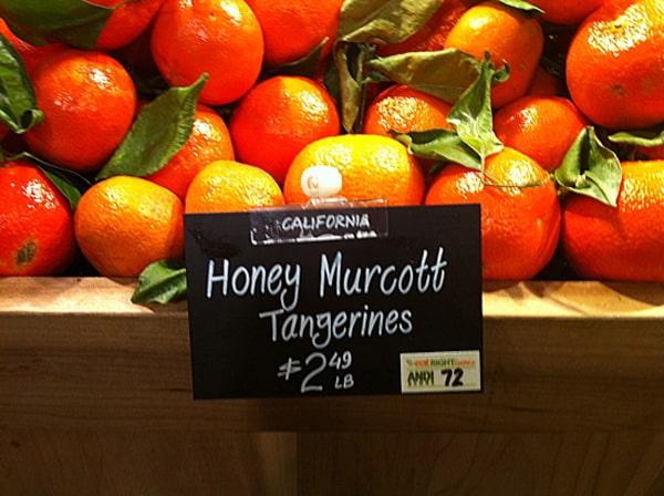 Honey Murcott Tangerines