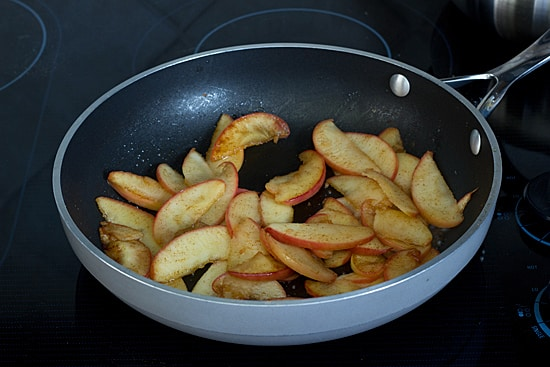 Sauteed Apples with Maple Syrup