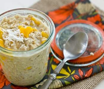 Coconut Mango Overnight Oatmeal