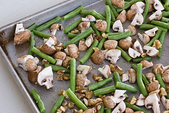 Green Beans & Mushrooms