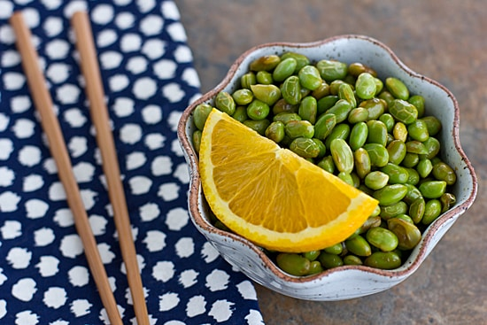 Citrus Soy Edamame + 4 Other Three Ingredient Sides