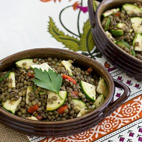 Herbed French Lentil Salad