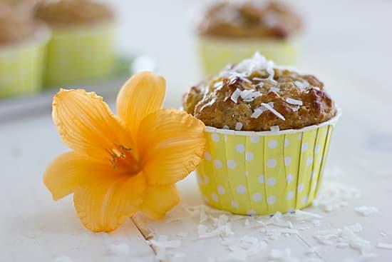 Mango Coconut Muffins