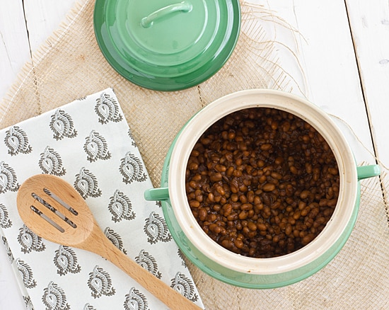 Stout Baked Beans [from top]
