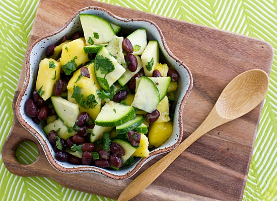 Mango Black Bean Salad [Top]